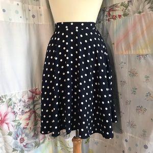 SHEIN Skirts - Shein - Polka Dot Circle Skirt with Pockets